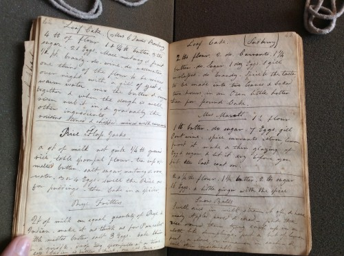 Caroline Hayward Recipe Book, 1815-1834, Massachusetts Historical Society.