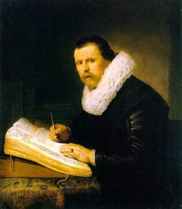 Rembrandt, Portrait of a Scholar, 1631. Image Credit: Wikimedia Commons.