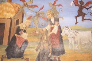 Detail from Fresco Photograph by Adelina Angusheva-Tihanov