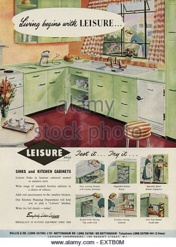 The Household in 1950s Magazine Advertising