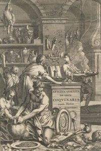 An early modern interpretation of the Roman kitchen of Apicius.