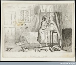 Innocent Sport? T.L. Busby, 1826. Credit: Wellcome Library, London.