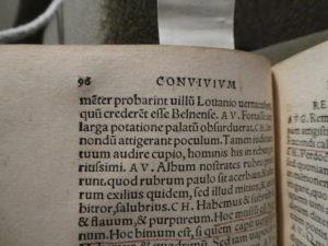 Desiderius Erasmus, Familiarium colloquiorum... (Basil, 1533) 189- 464q, Folger Shakespeare Library.