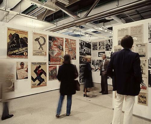 Paris-Berlin, 1978. Archives MNAM, photographie Jacques Faujour. Vues de la « Salle Berlin ».