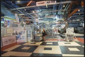 Exposition Les Années 50 - Entre le Béton et le Rock  Photo: E. Kossakowaski