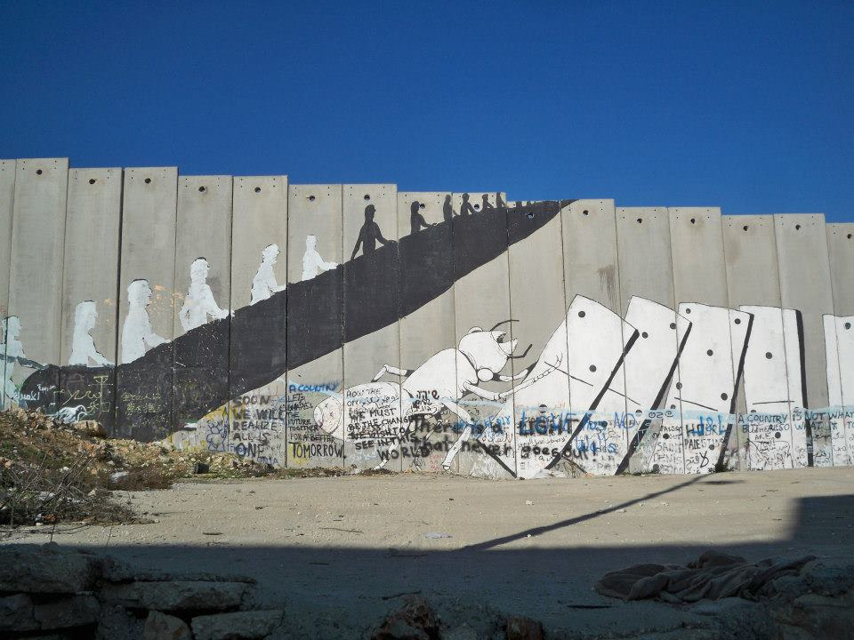 Mur de séparation-Bethléem - Clémence LEHEC-1