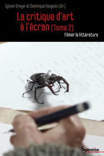 couverture la critique d,art à l'écran (tome 2)