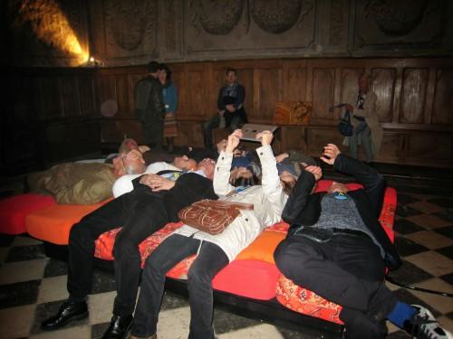 museomixage de la chapelle - le lit