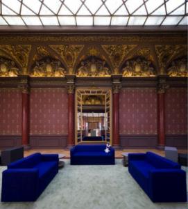 Hôtel particulier de la fondation Mozilla, rue Montmartre à Paris, datant du 18e.