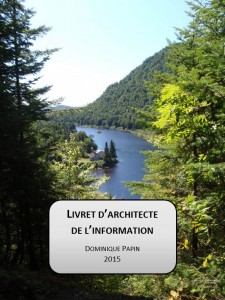 Livret d'architecte de l'information de Dominique Papin