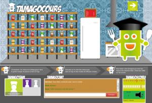 Une capture d'écran du jeu sérieux Tamagocours