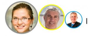 Les personas : Marie, Henri et André