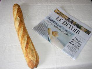 Baguette et journal