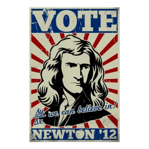 vote newton