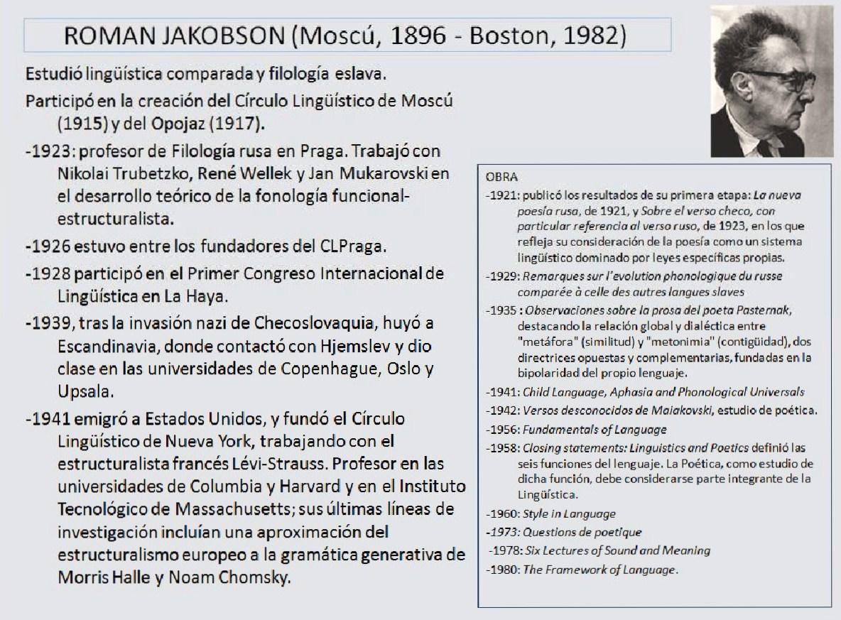 Jakobson | Sobre poética