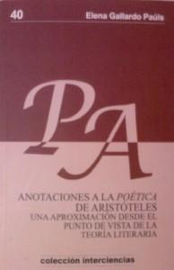 Anotaciones a la Poética aristotélica