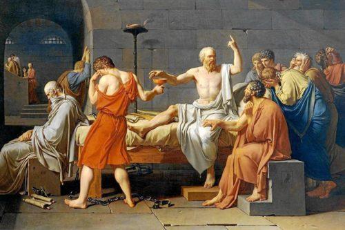 La muerte de Sócrates (J.L.David, 1787)