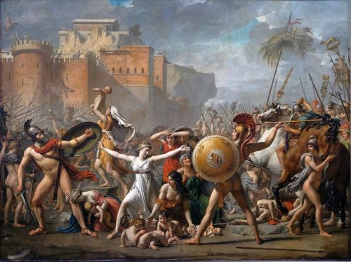 JL David_Rapto de las Sabinas _1799, Louvre