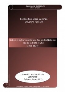 Affiche E.FERNANDEZ DOMINGO