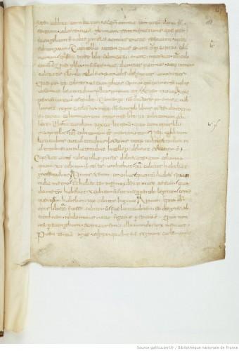 Paris, BNF, Baluze 270, f. 138r - original numérisé
