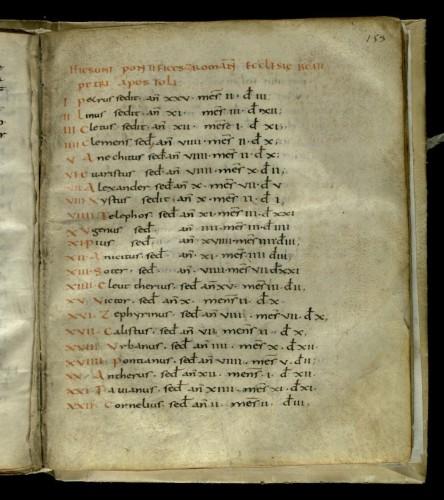 Roma, Bibl. Vallic., f. 153r