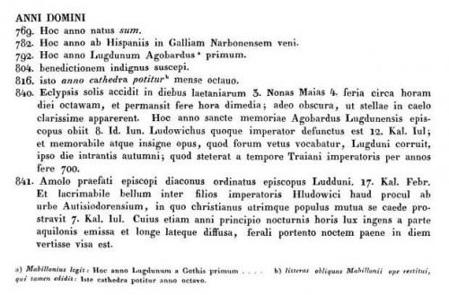 MGH SS 1 (G.H. Pertz éd., 1826), p. 110 (cliquer pour consulter sur dMGH)