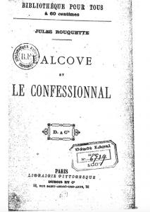 Alcove et confessionnal