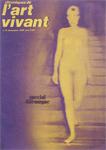 L'art Vivant_Novembre 1970