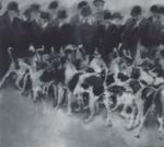 121_Jagdgesellschaft, 1966_recto