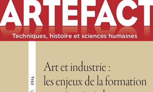 Revue Artefact n°2 – Techniques, histoire et sciences humaines