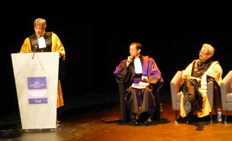 Cérémonie des docteurs Honoris Causa à l'université Paris-Ouest Nanterre