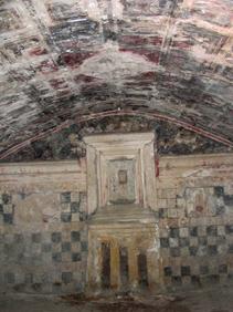 Alexandrie, Nécropole d'Anfouchi, chambre 2 de la tombe 2 Cl. A.-M. Guimier-Sorbets