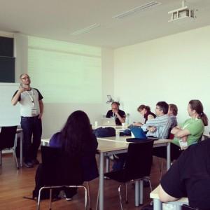 Educamp Ilmenau Podcast-Session, Foto: Tine Nowak