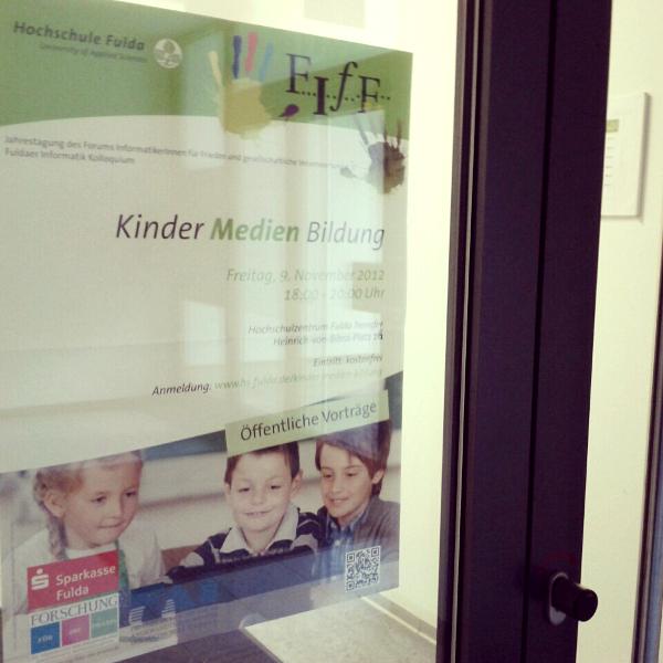 Vortrag Kinder Medien Bildung, Foto: Tine Nowak