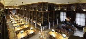 Lesesaal der  Bibliothèque Mazarine, Paris | Remi Mathis & Marie-Lan Nguyen | CC-BY 3.0