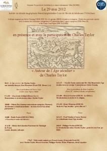 Autour de l'Âge séculier - Ch. Taylor
