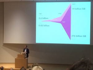 """""""Big Data""""-Vortrag von Viktor Mayer-Schönberger"""