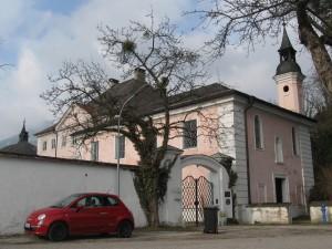 Das neue Schloss Urfahrn, ebenfalls vom Klostergründer Messerer erbaut.
