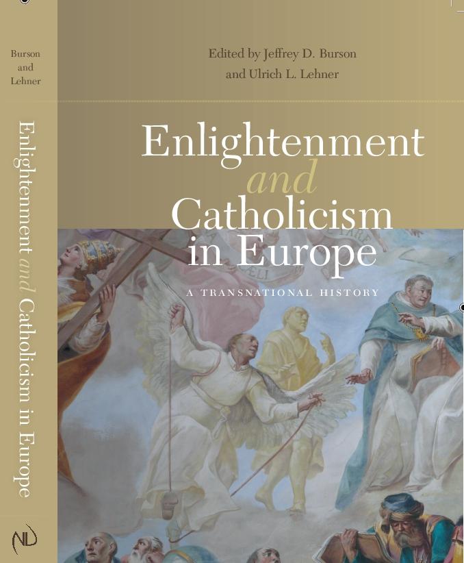 Burson/Lehner (ed.), Enlightenment and Catholicism (Cover)