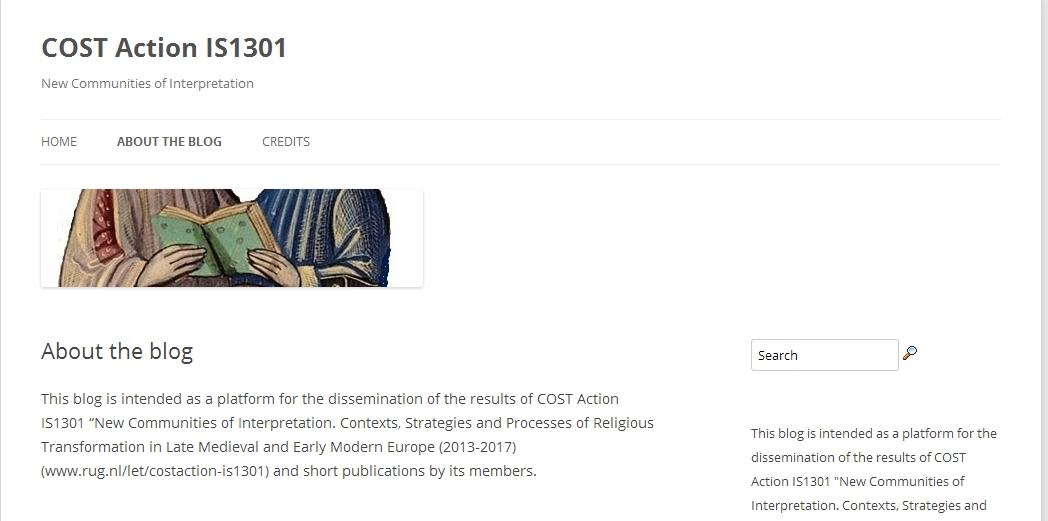 Weblog CostIS1301