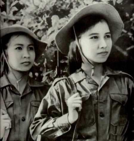 Nữ du kích Việt Cộng