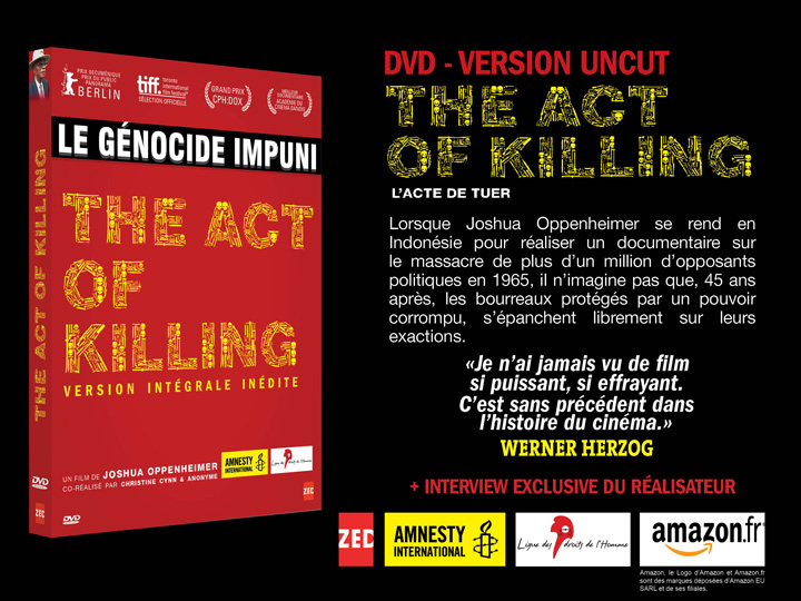 The act of killing Mailing