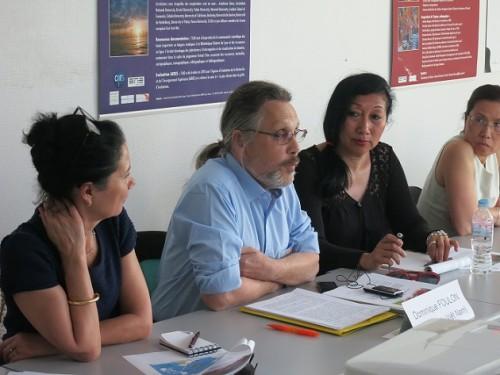 Dominique Foulon à l'Institut d'Asie Orientale © 2014 IAO