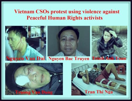 Poster des associations issues de la société civile contre la violence policière © 2014