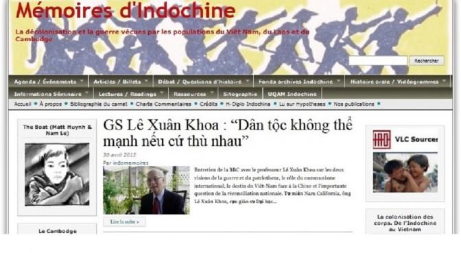Mémoires d'Indochine fait peau neuve