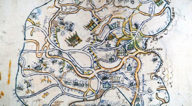 Durand & Mikaelian : Les représentations cartographiques de l'espace. La cartographie cambodgienne de 1897