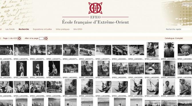 Photothèque de l'École française d'Extrême-Orient