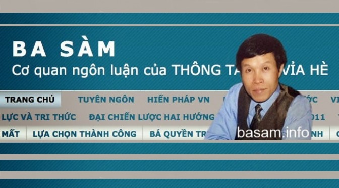 So what did my husband, Anh Ba Sàm, do? [Facebook]