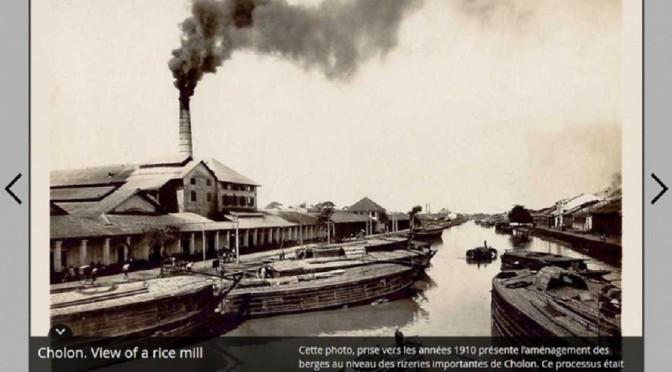 Laurent Gédéon : Saigon-Cholon, au fil de l'eau [récit visuel]