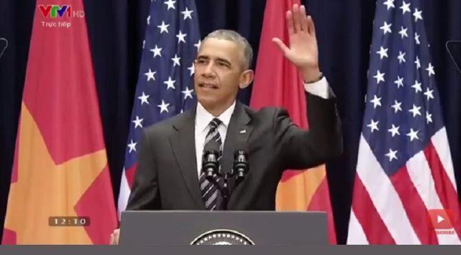 Bài phát biểu của Tổng thống Obama trước người dân Việt Nam